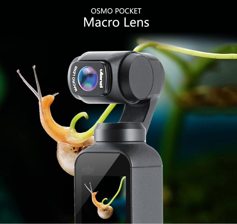 macro lens for dji osmo pocket