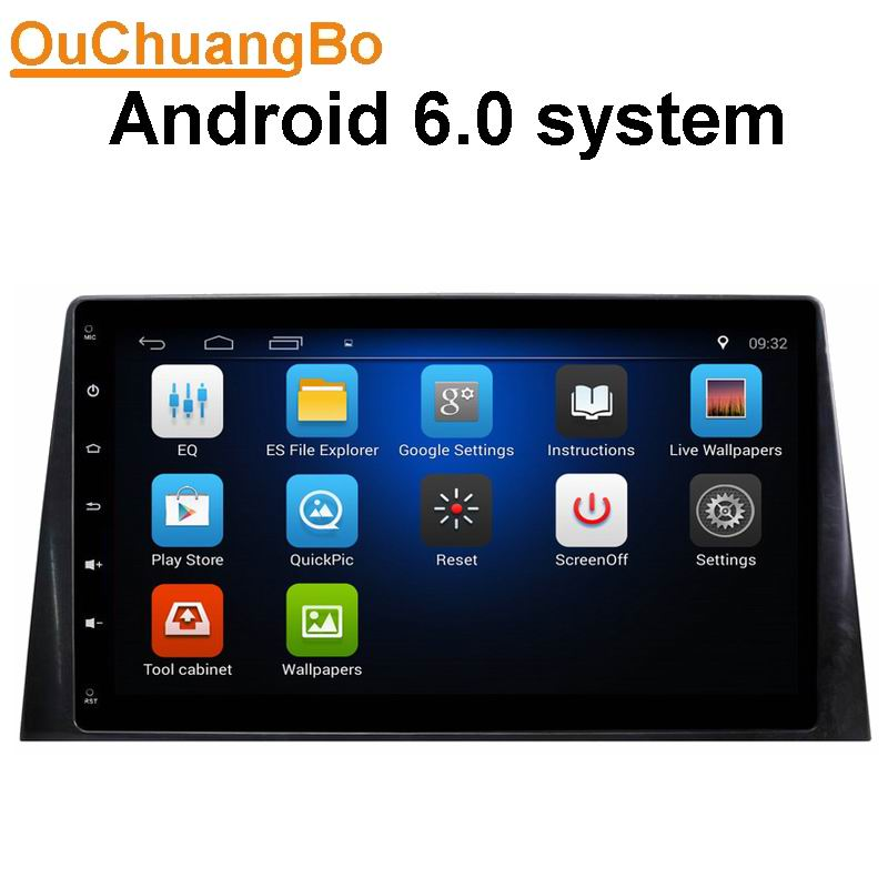 Ouchuangbo Car Audio GPS AutoRadio Video For Peugeot 308 2016 Support French Spanish Quad Core Aux