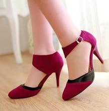 Korean Style Women Summer Thin High Heel font b Red b font font b Bottom b