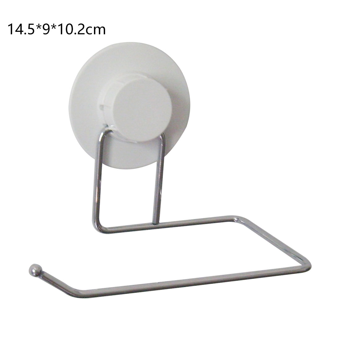 Useful Toilet Tissue Paper Tower Shelf Holder Bathroom Suction Hanger Tissue Rack Kitchen Towel Hook