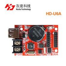 Huidu HD U6A U Disk เดี่ยวสี LED ทำงานสำหรับเดี่ยวสีคู่สี LED โมดูล CONTROLLER