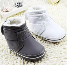 2016 Nwe Baby Boys Girls Shoes Soft Sole Kids Toddler Infant Baby Boots Prewalker First Walkers