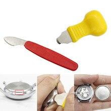 Stainless Steel Plastic Watch Repair Tool Kit Watch Case Ope