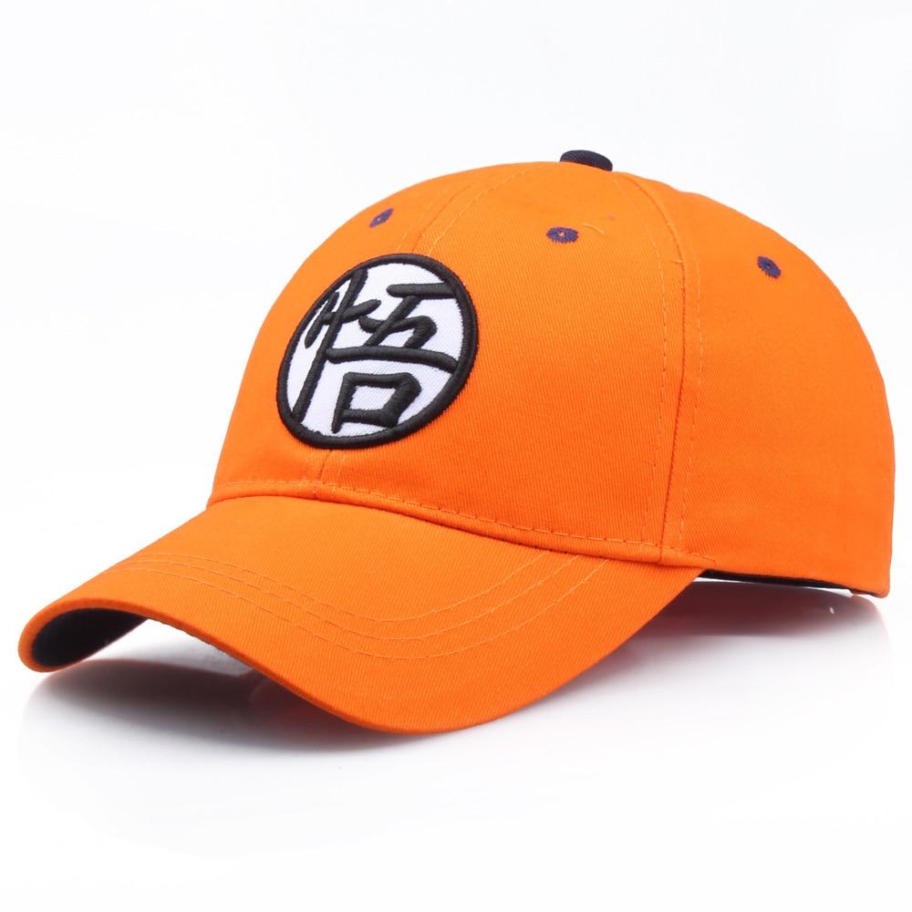 High Quality Cotton Dragon Ball Z Goku Baseball Caps Hats For Men Women Anime Dragonball Adjustable HipHop Snapback cap Hat
