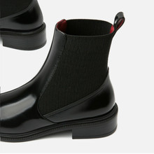 Yasilaiya Chelsea ankle boots 2018 winter European and Americl  womens shoes an style with wool warm simple flat