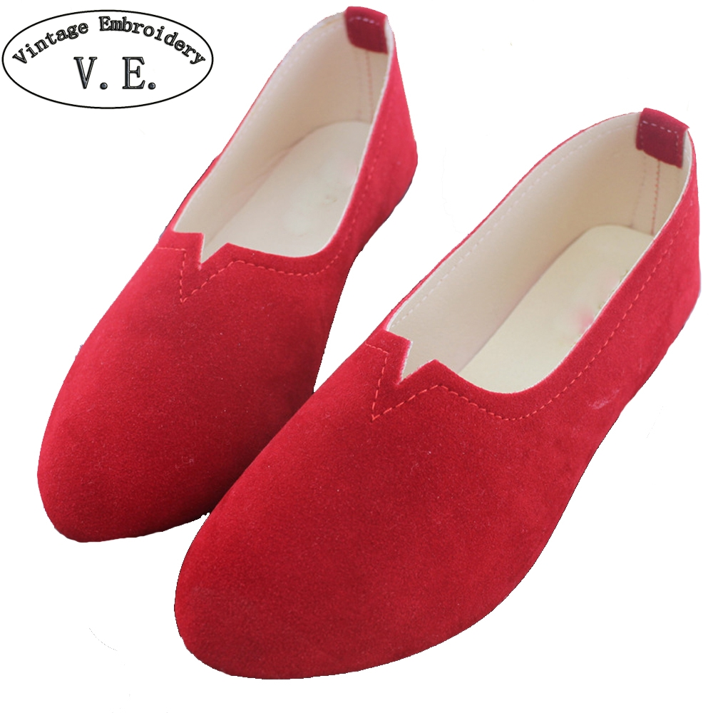 Women Flats Candy Color Shoes Woman Spring Summer Casual Lady Shoes Women Zapatos Mujer Size 35-43 Chaussures Femme