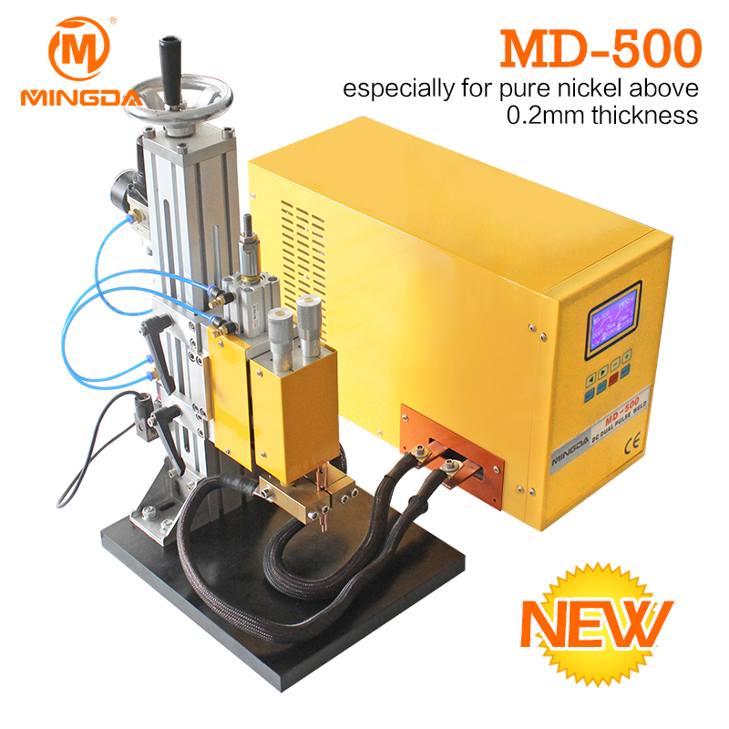 Good Connection Spot Welding Machine With High Precision MINGDA MD-500 Battery Welder Machine Manufacture Direct Sale