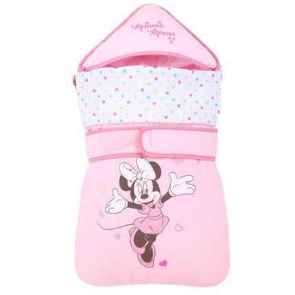 Disney Mickey Minnie baby multi-funktion tasche herbst und winter warme stepp baumwolle halten neugeborenen cuddle ist schlafsack