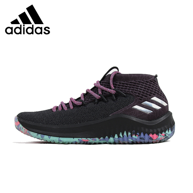 ADIDAS 2018 Dame 4 Original Mens Basketball Shoes Stability Support Sports  Sneakers Outdoor For Men Shoes