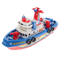 Cool Marine Rescue Boat Ship Model New Electric Toy Ship Boat Children Toy Navigation Non Remote