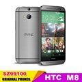 M8 Оригинальный Разблокирована HTC ONE M8 Quad Core Мобильный телефон Android 4.4 2 ГБ RAM 32 ГБ ROM 3 Камеры Бесплатная Доставка