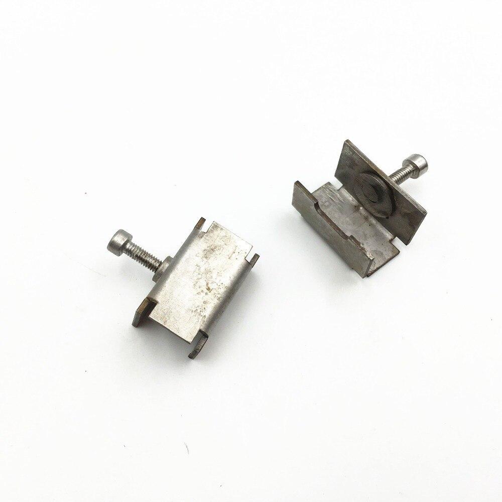4 Stücke 3d Drucker Sonder Beheizten Bett Glas Clamp Clip Edelstahl Clip Für Reprap 3d Drucker Zubehör Teile Büroelektronik