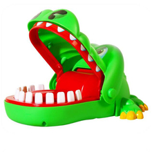 Practical Jokes Crocodile Mouth Dentist Bite Finger Game Joke Fun Funny Crocodile Toy Antistress Gift Kids