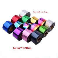 6cm 120M Wholesale 1 31kinds Nail Foil Stickers Star Style Art Polish Transfer Decal DIY Beauty