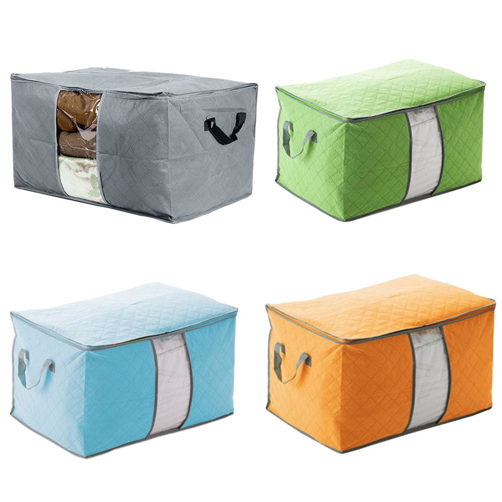 Storage Sac Us 3 76 42 Off New Foldable Room Bag Storage Box Holder Blanket Organizer For Clothes Quilt Compressed Storage Sac De Rangement Hot Sale In Storage