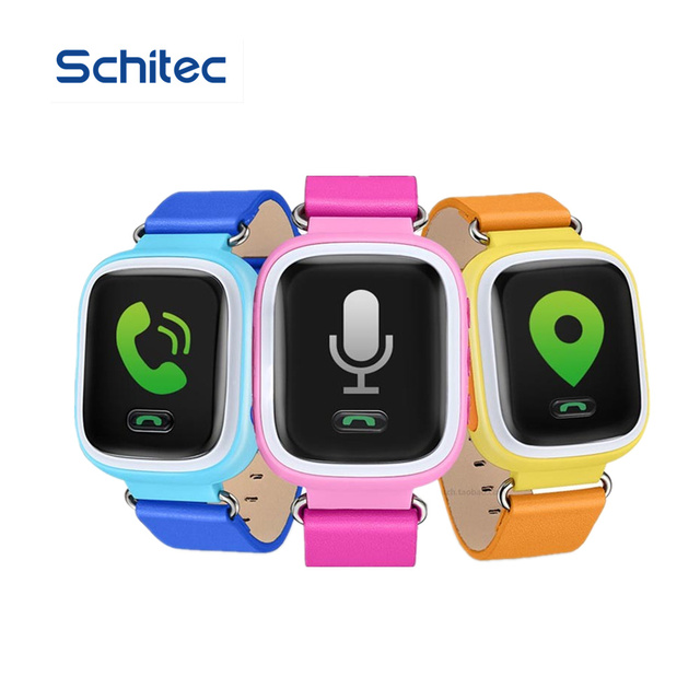 2016 Smart Kid Safe GPS Watch Wristwatch SOS Call Location Finder Locator Tracker for Kid Child Anti Lost Monitor Baby Gift