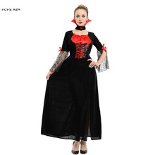 Sexy Women Halloween Vampire Scary Costumes Female demon Dracula Cosplay  Carnival Purim Masquerade Nightclub Bar Role 13d459243