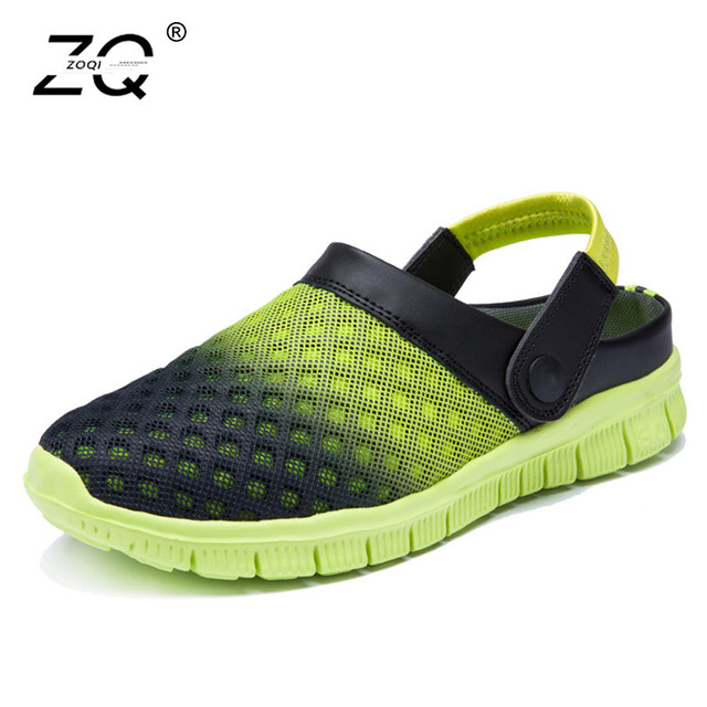 20f27a28b4d67 Men s Summer Shoes Slip on Sandals Big Size 36 46 Breathable   Light ...