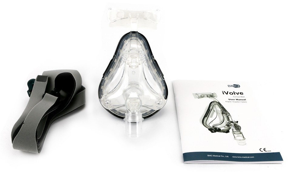 Full Face mask fro CPAP APAP BPAP respirator (3)