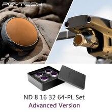 PGYTECH Gelişmiş Sürüm DJI Mavic 2 Zoom ND8PL + 16PL + 32PL + 64PL Filtreler Kiti DJI Mavic 2 yakınlaştırma kamerası Lens filtre Aksesuarları