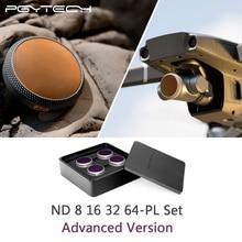 Versão Avançada PGYTECH DJI Mavic 2 Zoom ND8PL + 16PL + 32PL + 64PL Filtros Kit para DJI Mavic 2 zoom Da Lente Da Câmera filtro Acessórios