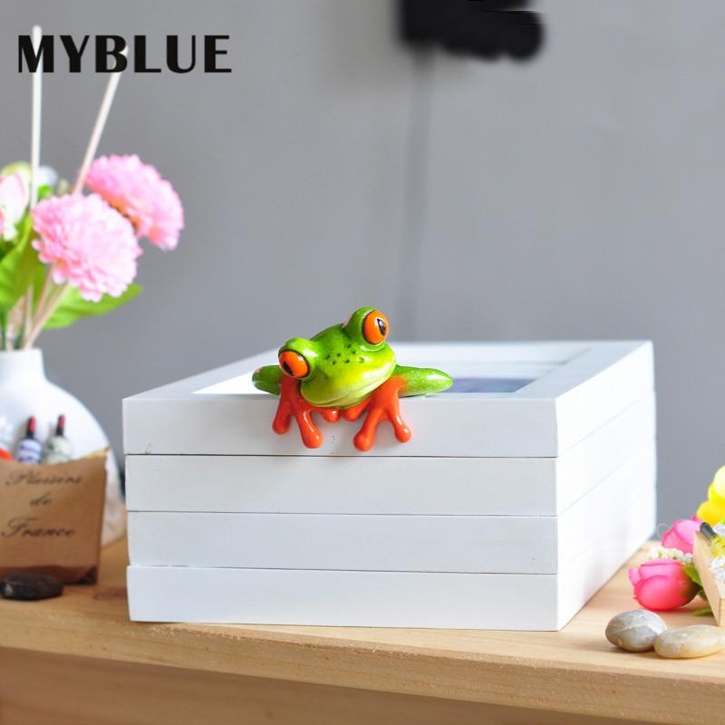 MYBLUE 2Pcs / Set Kawaii Արհեստական - Տնային դեկոր - Լուսանկար 4