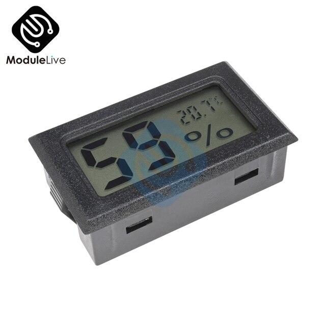 Мини ЖК-цифровой термометр гигрометр Температура Крытый удобный датчик температуры измеритель влажности измерительные приборы