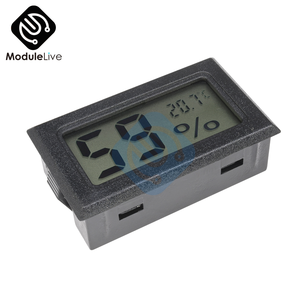 Mini LCD Digital Thermometer Hygrometer Temperature Indoor Convenient Temperature Sensor Humidity Meter Gauge Instruments printhead for epson lq 300k lq300k lq305k 300k original used print head printer parts on sale