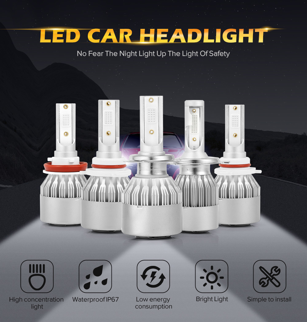 car led headlight ice blue  (2)