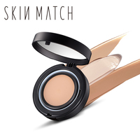 Brand SKIN MATCH 2017 Longlasting Oil Control Concealer Cover Base Fix Loosed Mineralize Powder Palette Makeup