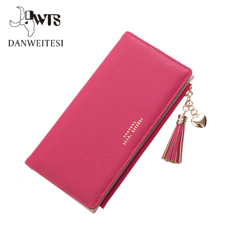 2018 Wallet Female For Coins Cute Wallet Women Long Leather Women Wallets Zipper Purses Portefeuille Wallet Female Purse Clutch blingbling shiny sequins leather wallet women short zipper wallet purse fashion wallet key coins bags female clutch money bags