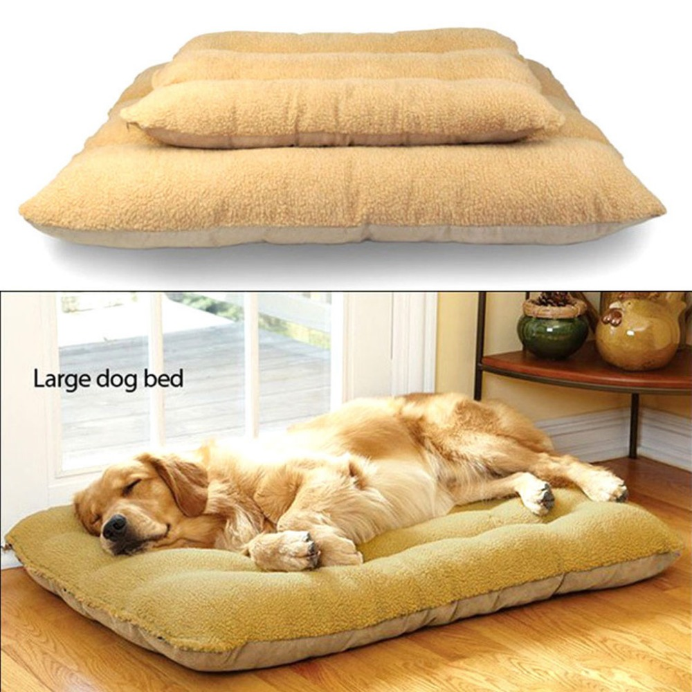 New Large Warm Soft Pet Dog Kennel Cat Puppy Bed Mat Pad