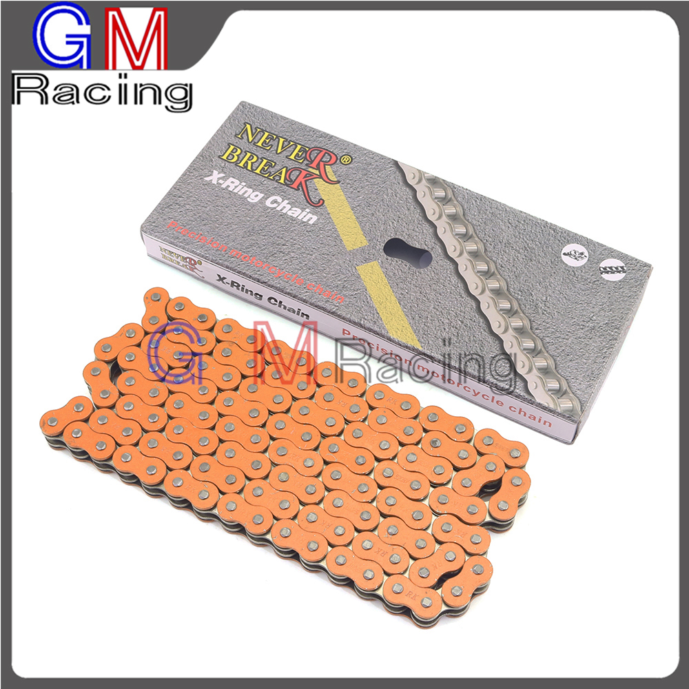 520 X Ring Oil Seal Chain 120 Link For KTM SX SXF XC XCW XCF XCFW EXC EXCF 65 85 105 125 200 250 300 350 400 450 500 505 520 530 motorcycle 520 x ring x ring oil seal chain 120 link for kawasaki kx kxf klx 65 85 125 250 500 kx65 kx85 kx125 kx250 kx500