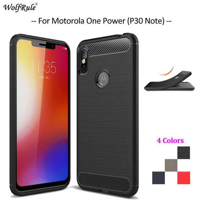 best cheap 5e785 37e6e US $2.51 41% OFF|For Cover Motorole One Power Case Soft TPU Rugged Bumper  Phone Case For Motorole Moto One Power Cover For Moto P30 Note 6.2''-in ...
