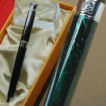 ПИКАССО 903 Переливающаяся Нефритовая и серебряная перьевая ручка с перьевым наконечником с оригинальной коробкой на выбор, канцелярская ручка для школы и офиса