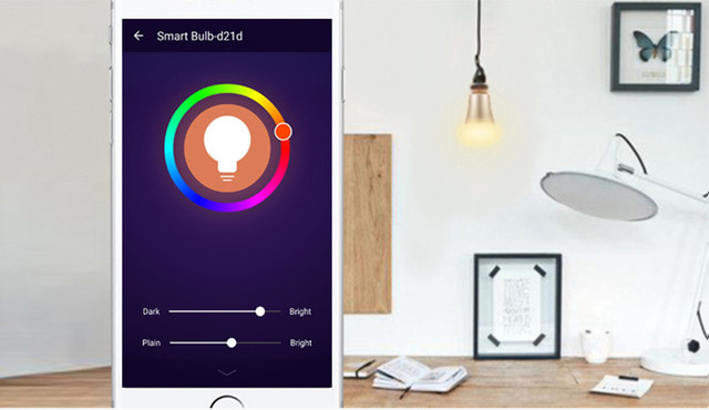 E27 Wi-Fi RGB СВЕТОДИОДНЫЕ Лампы Свет, пульт дистанционного управления с помощью Приложения, Концентраторы, Совместим работа с Amazon Эхо и Точка Alexa