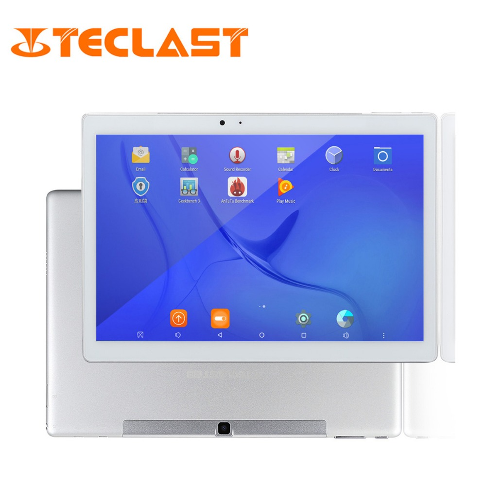 Teclast Maître T10 Android 7.0 10.1 Tablet PC MT8176 Hexa Core 4 gb RAM 64 gb ROM 8.0MP + 13.0 MP HDMI 2560*1600 Capteur D'empreintes Digitales