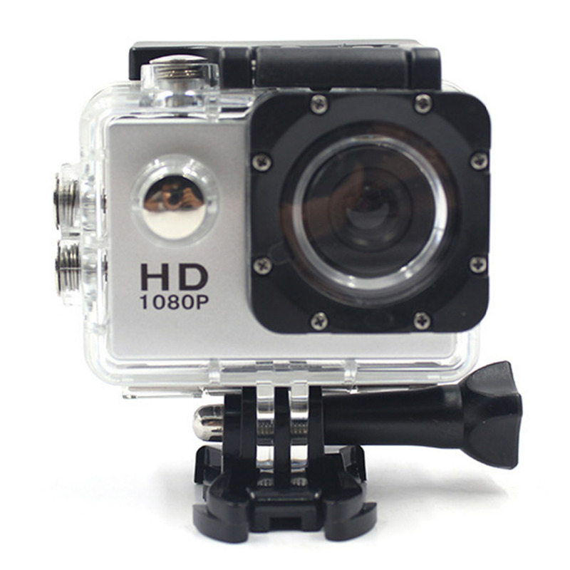 Outdoor Sports Camera Super 30 Meters 170d Screen 1080p Underwater Waterproof Sports Camera Go Extreme Professional Cam