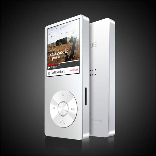 2018 סגסוגת MP3 מוסיקה נגן BENJIE K9 עם רמקול 8 gb 60 שעות גבוהה באיכות Lossless קול מקליט FM רדיו תמיכה 64 גרם SD כרטיס