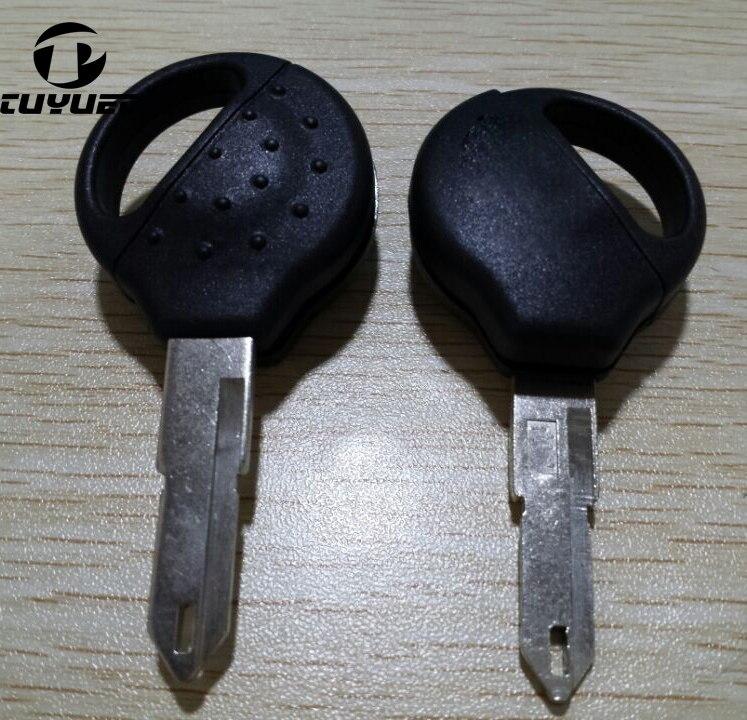 Caso Chave de Substituição de Alta Qualidade Para Peugeot 206 Shell Chave  Transponder Chave Do Carro Em Branco 1304e6642a
