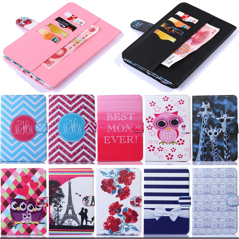 T350 Case Book New painting Style Flip PU Leather Case Cover For Samsung Galaxy Tab A 8.0 SM-T350 T351 T355 tablet cases M5E23D