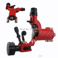 Professional New Dragonfly Rotary Tattoo Machine Gun with RCA Hoop Red Sun for Shader& Liner Rotary Tattoo Machine Motor Gun