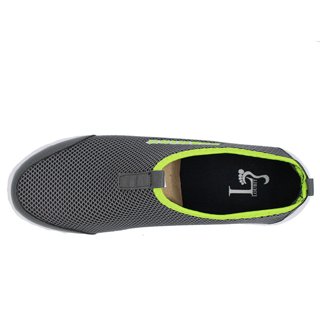 Men Shoes 2017 Summer Shoes Light Comfortable Men Casual Shoes Mesh Breathable Loafers Footwear Plus Size 38-46