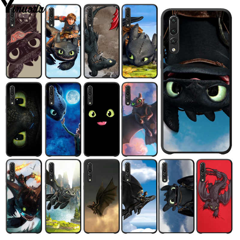 Yinuoda toothless How To Train Your Dragon HTTYD Phone Case for Huawei P20Lite P10 Plus Mate10Lite Mate20 P20 Pro Honor10 View10