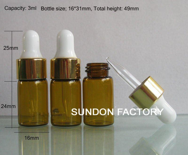 Fedex 3ml amber glass essential oil bottle dropper, mini dropper bottle, 5ml,10ml,15ml till 100ml - Online Store 335479 store