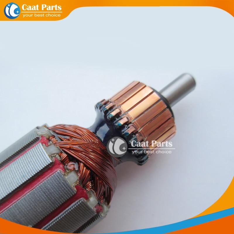 AC220V-240V Rotor de armadura de martillo eléctrico de eje de 6 - Accesorios para herramientas eléctricas - foto 3
