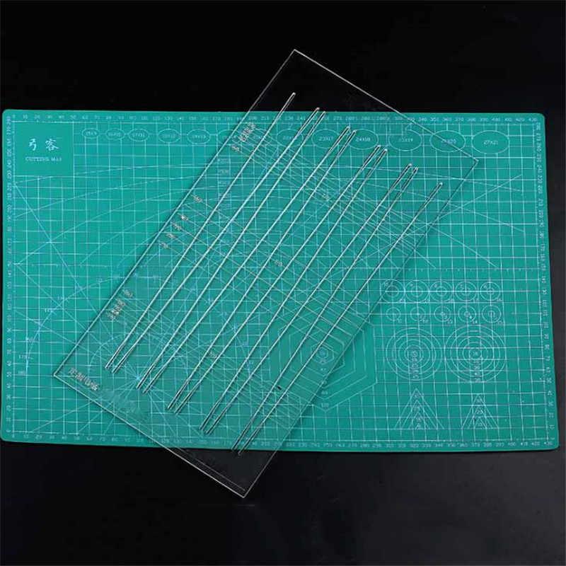 1 個多機能テーパーフラット革を切断するためのパチンコアクセサリーパチンコゴムバンド