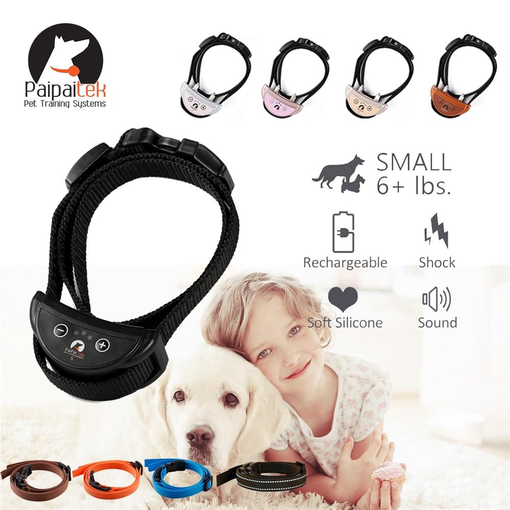 Medium Dogs  Anti Bark Training Collar Pink   m NO SHOCK Collar For Small