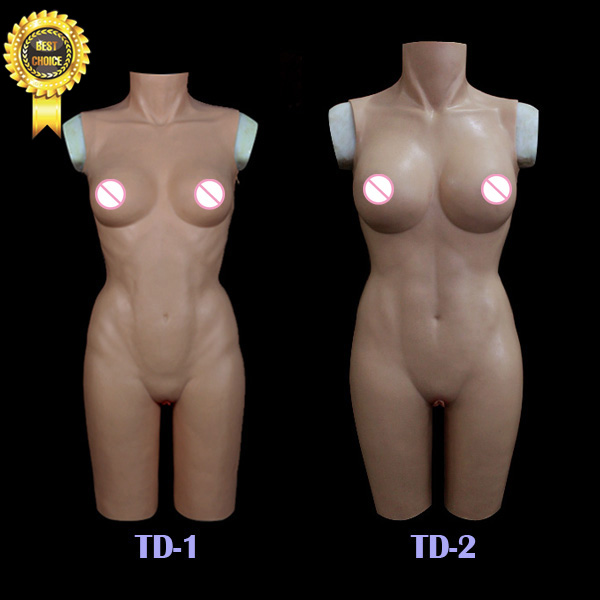 TD-1new top quality crossdresser realistic silicone breast forms party masks silicone tight dress cross dressing costume props sf 9 2015 new realistic silicone masks female masking for crossdresser shemale realistic masks