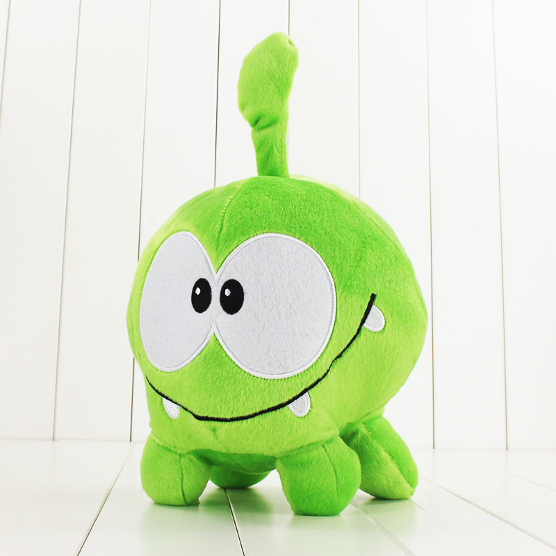 30cm Cut the Rope Om Nom Plush cartoon Doll Toys Big Size Om Nom plush cartoon doll toys soft stuffed cute funny game doll toy 1pc 30cm cute descendants of the sun the same paragraph plush toy secondary group wolf king